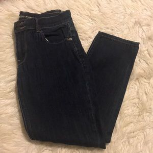 Express Cropped Legging Mid Rise Jeans